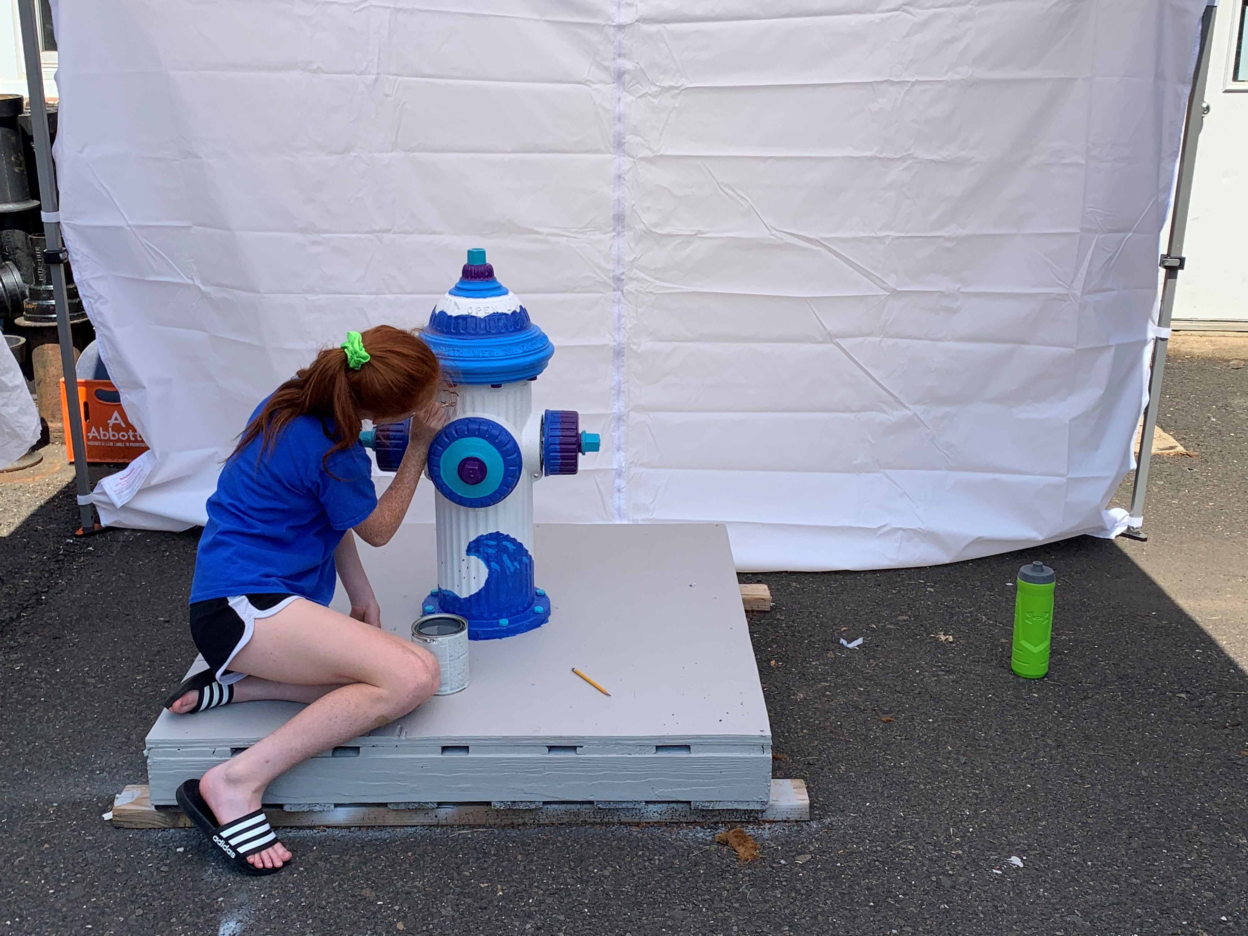 Paint a Hydrant Contest Winner